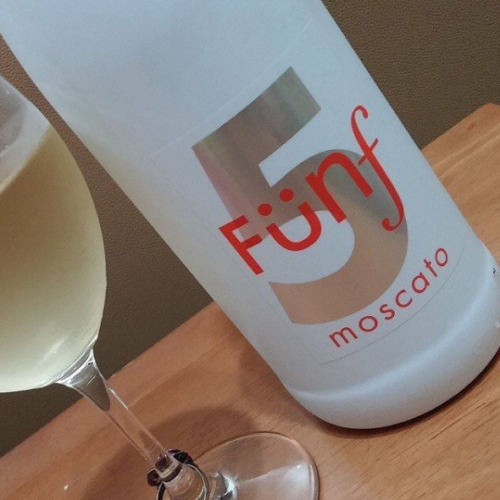 Moscato is even better served on a wooden plank - @FreeElla
