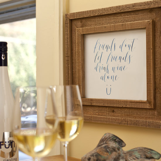 Funf Wine wall art